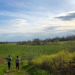 Walking trail at Won Dharma Center
