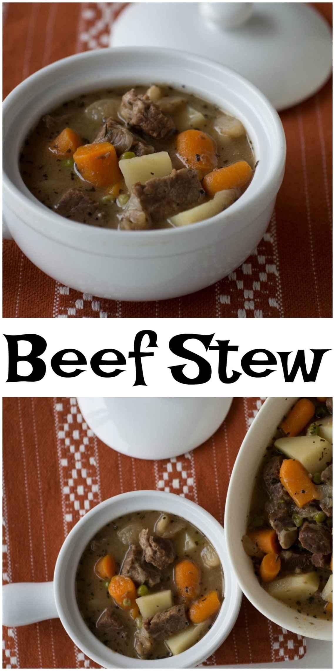 Easy Beef Stew Recipe- Upstate Ramblings