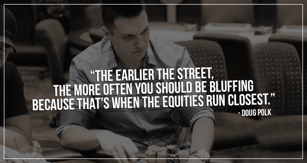 doug polk equities run closely quick poker tip