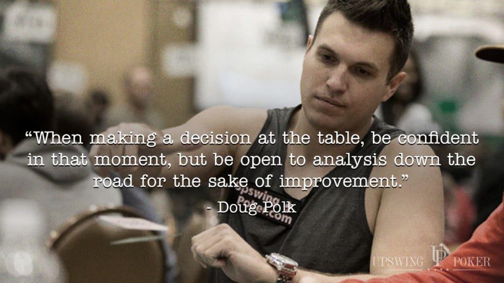 quick poker tip doug polk analysis