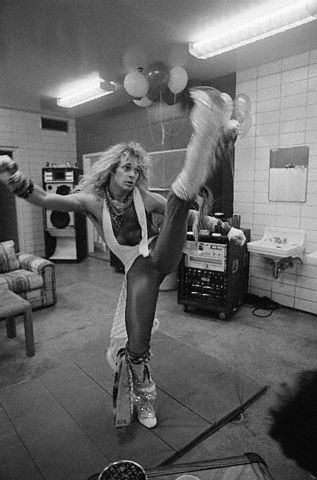 David Lee Roth Rock Kick