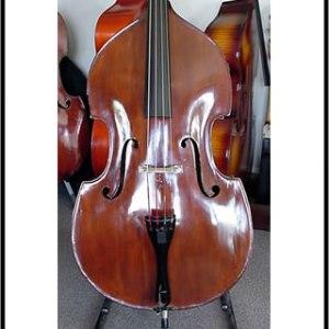 SOLD: Bohemian Double Bass Circa 1925