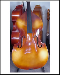 SOLD: German Laminated Double Bass CA 1948