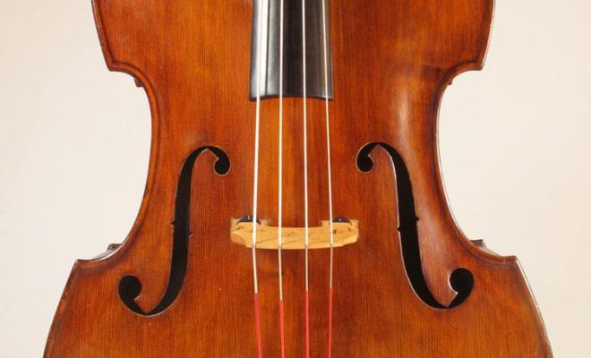 SOLD: Emanuel Wilfer Double Bass c1998