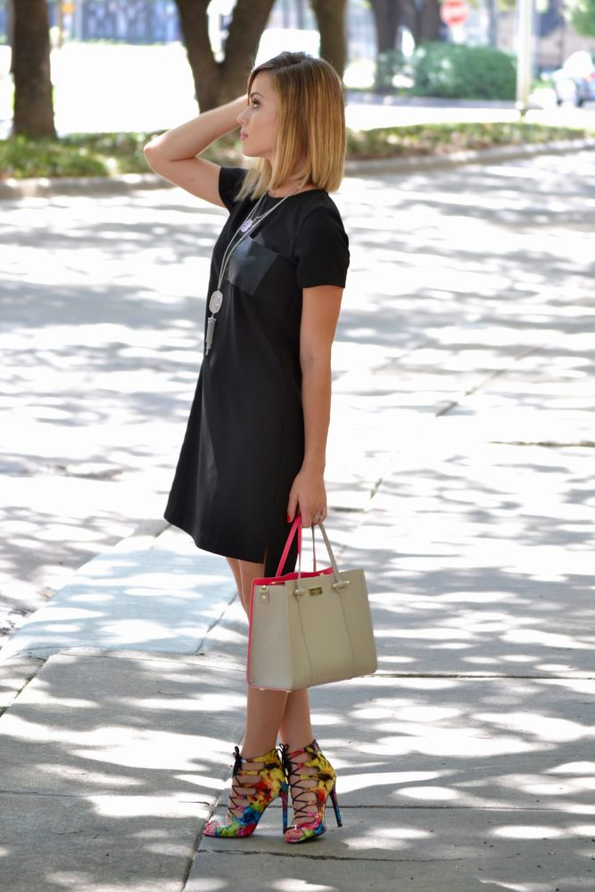 Madewell Shift dress look