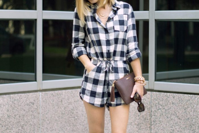 Gingham outfit