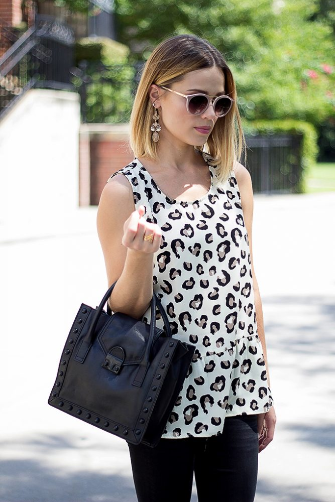 leopard top outfit
