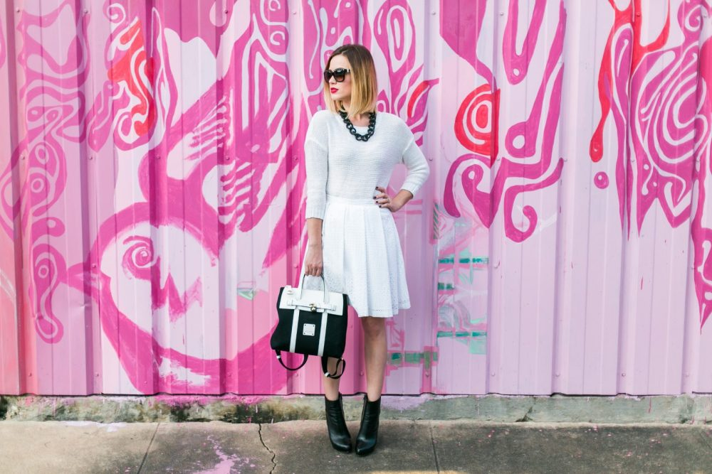 how to wear an all white outfit