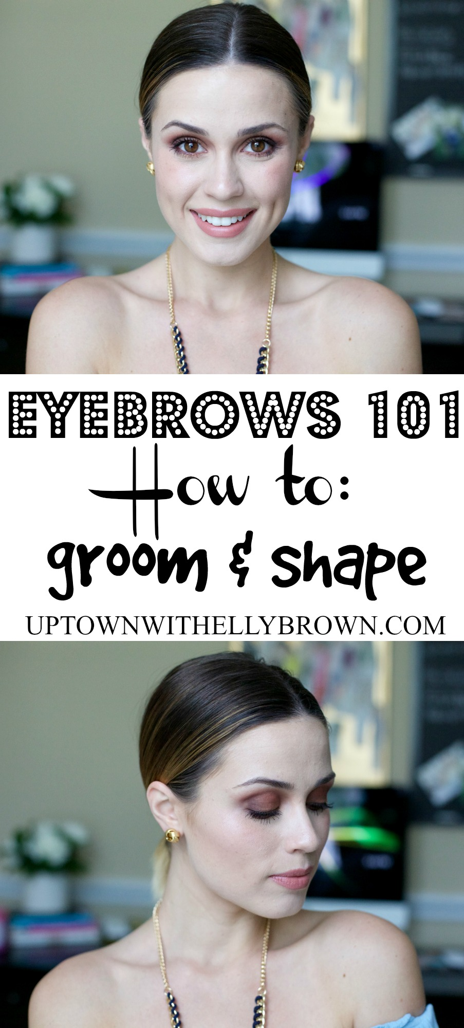 how to groom and shape eyebrows