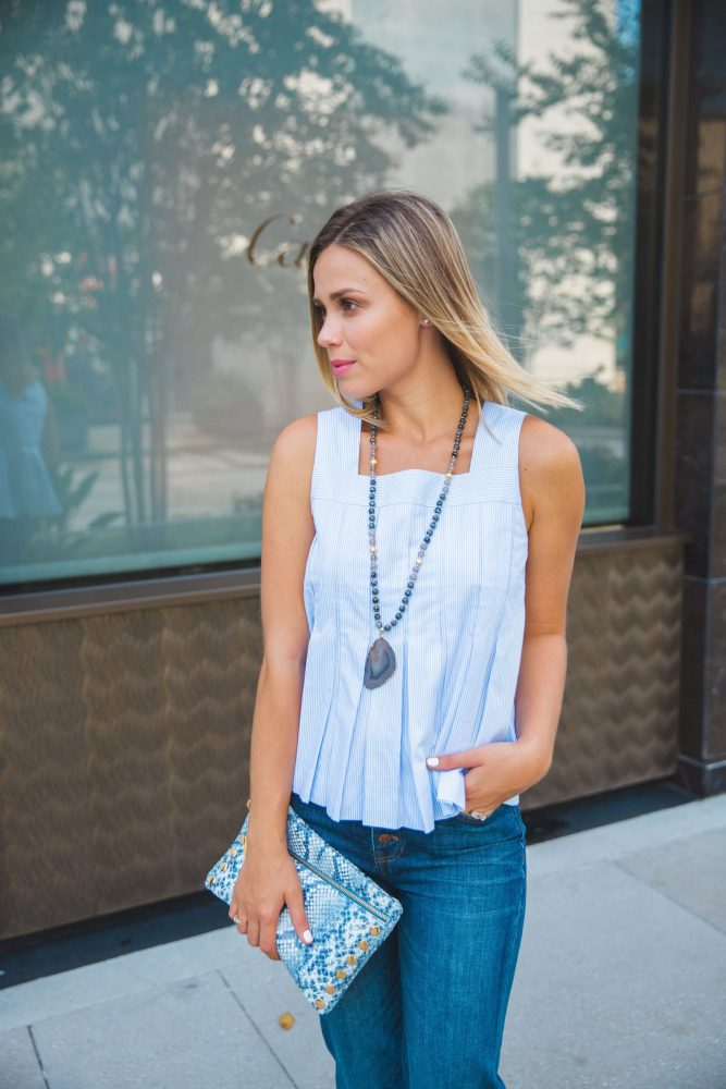 How to wear trouser denims | Flare Jeans | Uptown with Elly Brown