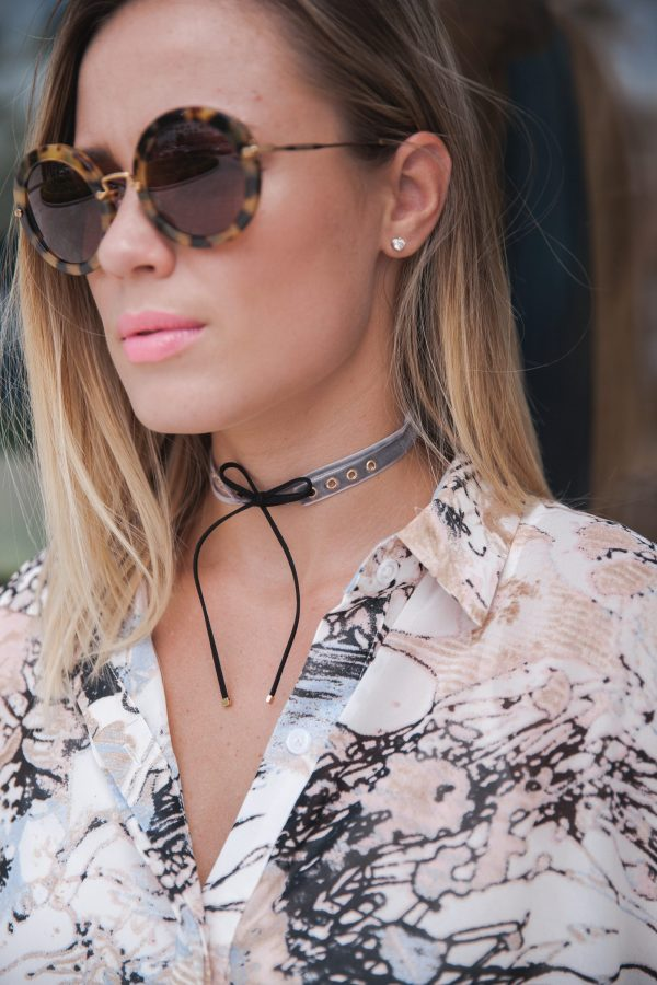 How to transition into fall with one item | Fall looks | How to wear chokers | Uptown with Elly Brown