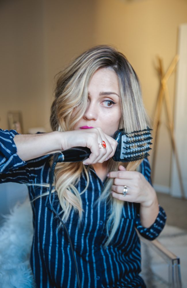 Two looks for your locks with Conair | How to curl your extensions | Uptown with Elly Brown