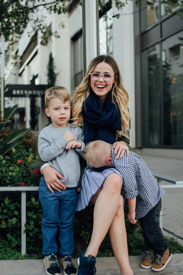 Raising your kids to love   Mommy and me fall look with Vineyard Vines   Uptown with Elly Brown