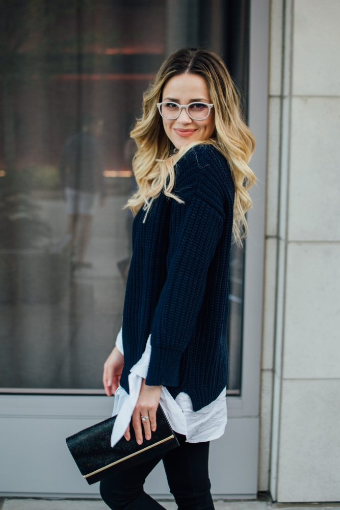 Casual look | Fall Outfit | Sweater outfit | Uptown with Elly Brown