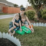 Flower Bed Makeover with Ecoscraps