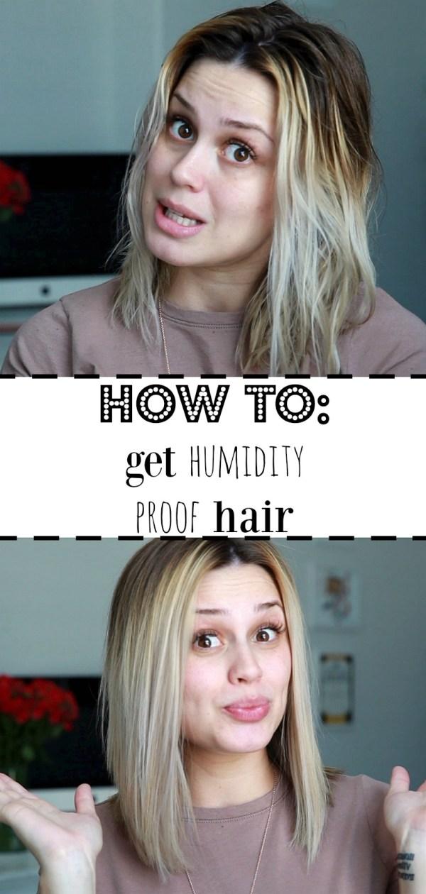 How to get humidity proof hair | Sleek hair Tutorial | Straight hair tutorial | Uptown with Elly Brown