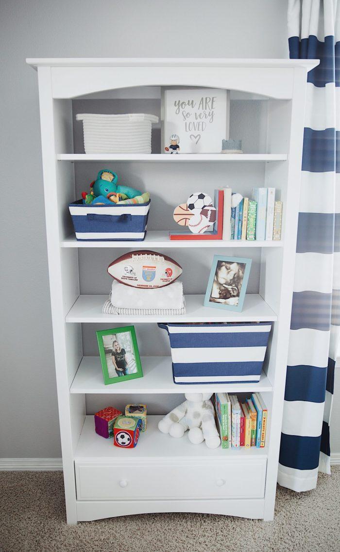 Baby boy nursery | Boy Nursery ideas | Nursery decor | Uptown with Elly Brown