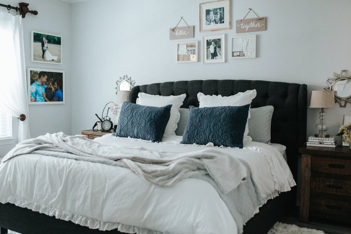 Home Reveal: Our Modern Master Bedroom by Houston blogger Uptown with Elly Brown