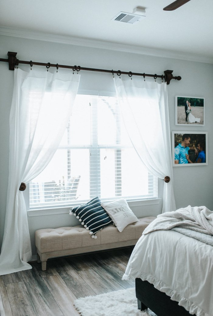 Bedroom bench | Nightstand Ideas | Master bedroom Decor | Bedroom decor inspo | Uptown with Elly Brown
