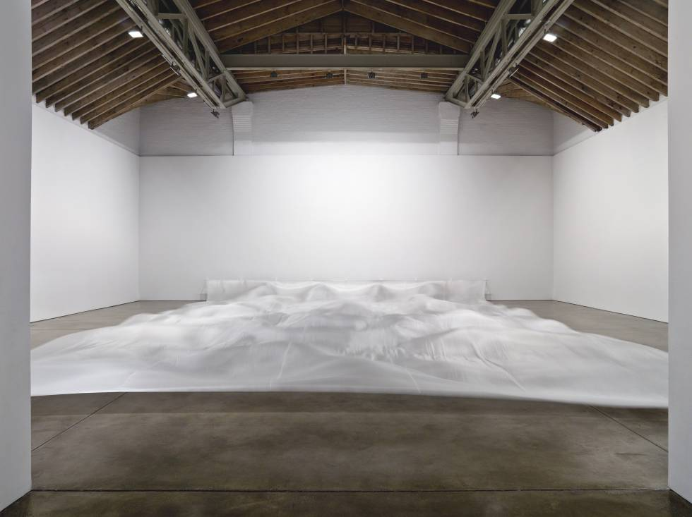 'Wide White' (1967), de Hans Haacke.