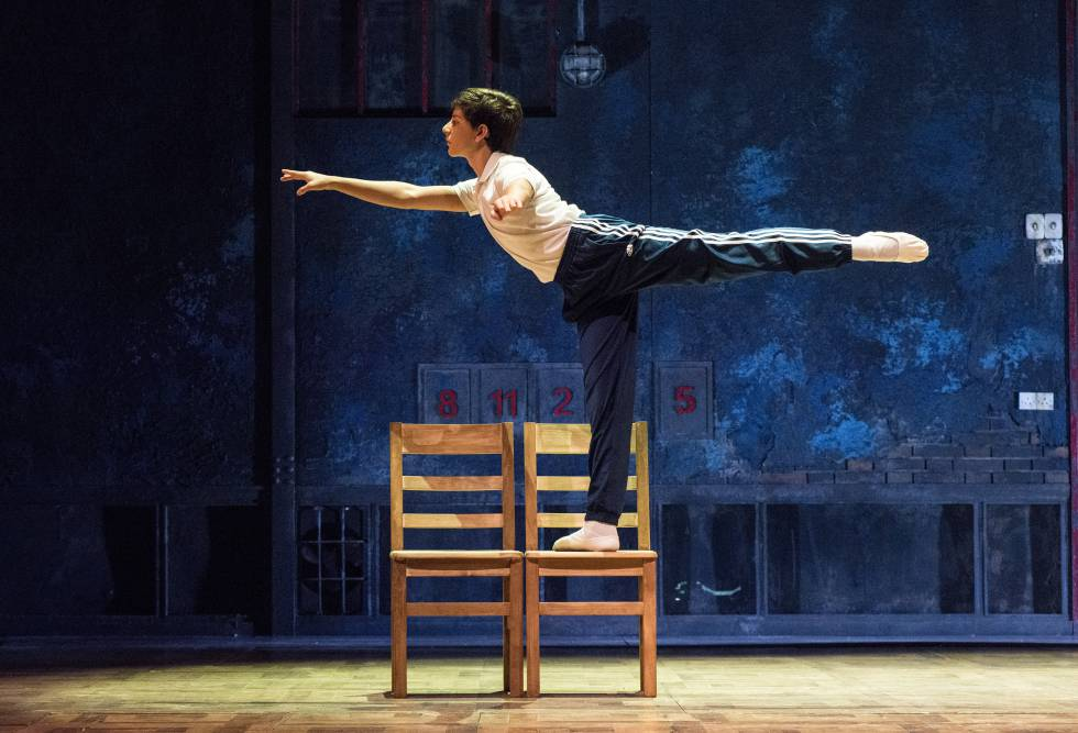 Un momento de 'Billy Elliot'.
