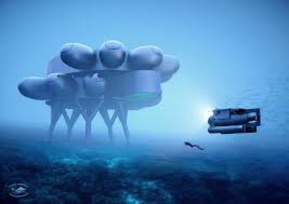 Jacques Cousteau's Grandson Is Building an Underwater Research Center
