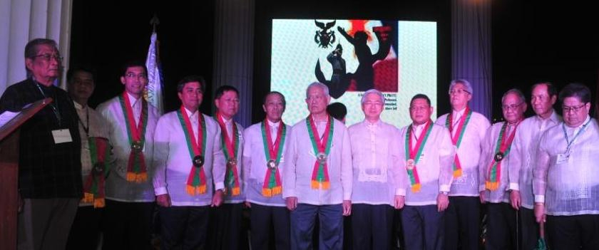 The Ten Outstanding UPROTC Centennial Awardees