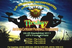 UP Vanguard Incorporated, Panay-Negros Chapter Paintball Tournament