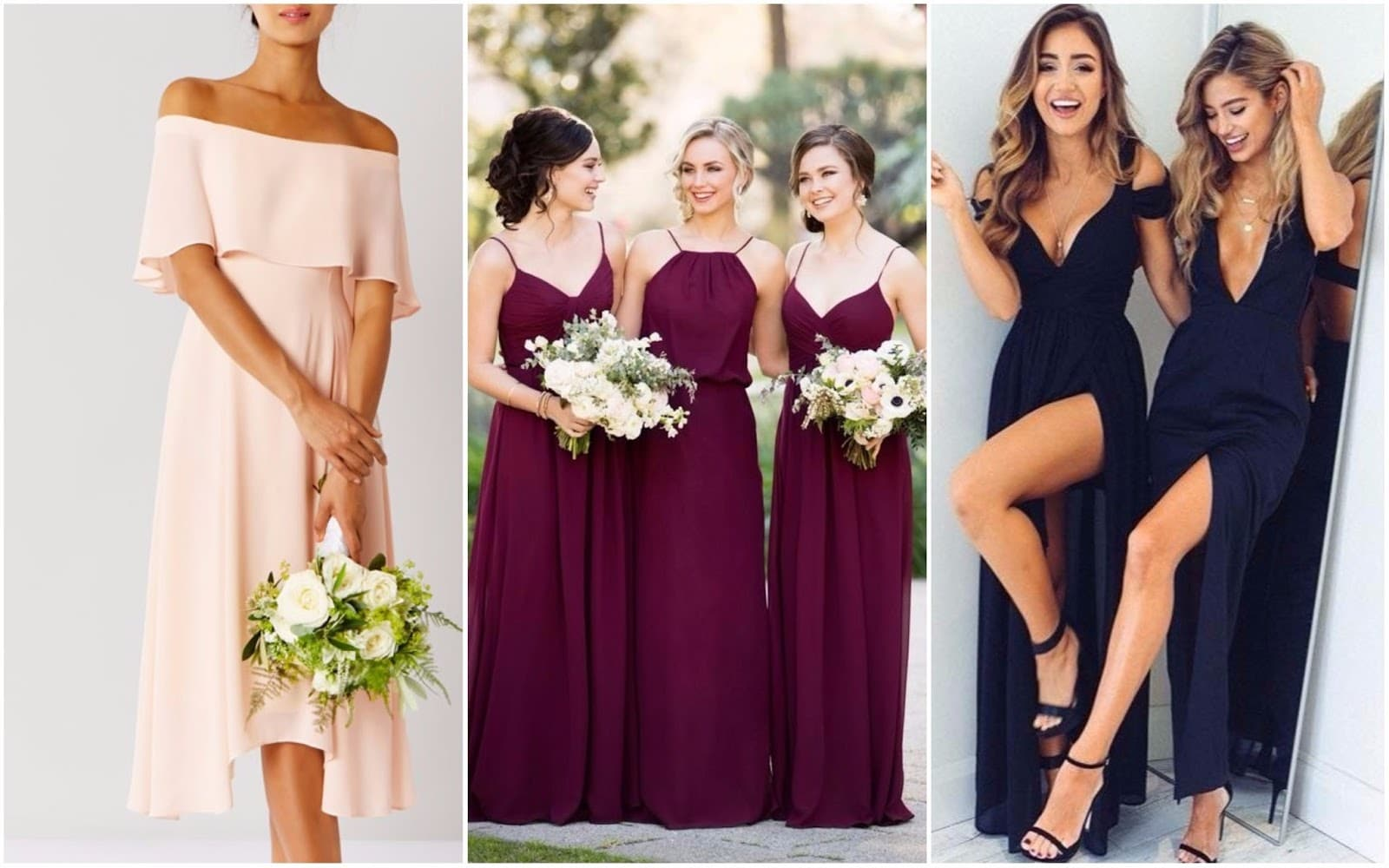 Bridesmaid Dress Colours