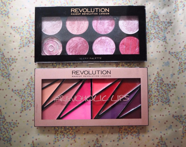 Makeup Revolution Blush and Lip Palettes