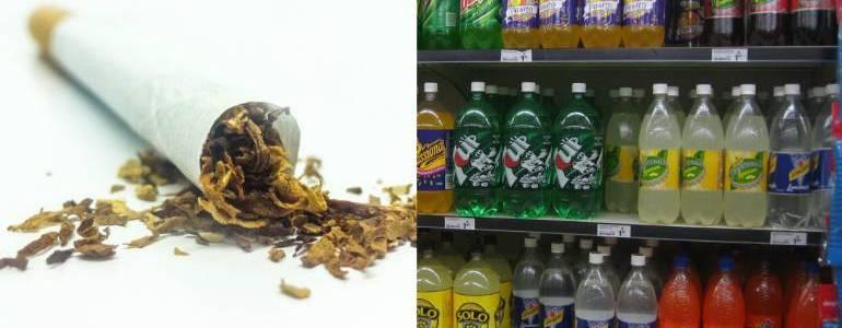 Propuesta de Minsalud aumentaría impuestos a tabaco y bebidas azucaradas