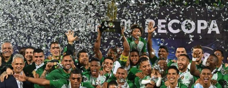Atlético Nacional, primer equipo colombiano en ganar la Recopa Sudamericana
