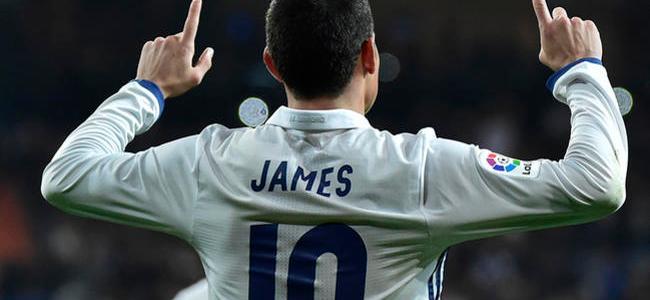 El Milan quiere juntar a James y Diego Costa