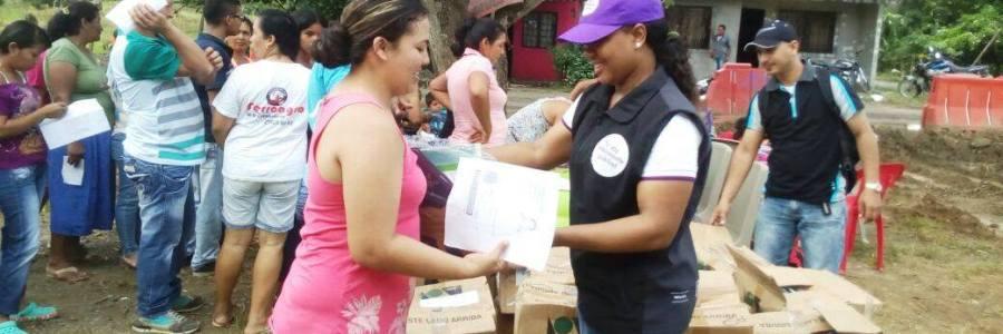 EN CAREPA FUERON ENTREGADAS BIBLIOTECAS FAMILIARES