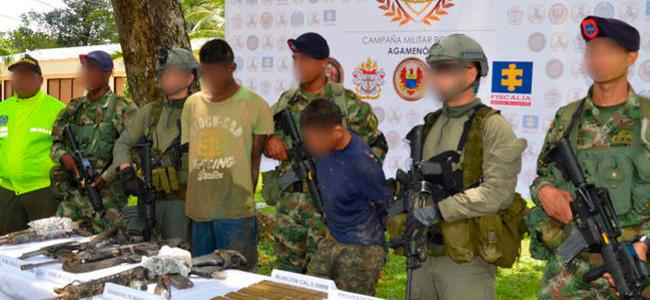 Golpe al Clan del Golfo en Urabá deja tres integrantes abatidos y dos capturados