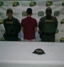 JUDICIAL :  CAPTURADO  POR TRÁFICO, FABRICACIÓN O PORTE DE ESTUPEFACIENTES