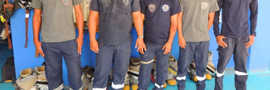CON EL APOYO DE LA ALCALDÍA DE CAREPA, EL CUERPO DE BOMBEROS SE FORTALECE