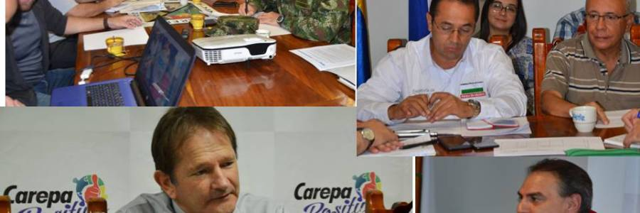 PROBLEMÁTICA DE INVASIÓN EN CAREPA: CONSEJO DE SEGURIDAD CON AUTORIDADES DEL DEPARTAMENTO
