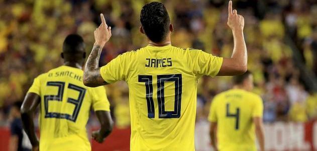 Colombia pasó por encima de Estados Unidos en partido amistoso