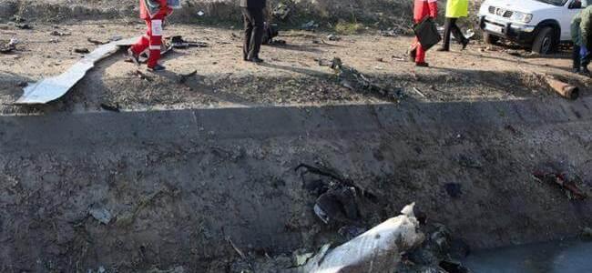 Avión ucraniano con 180 personas a bordo se estrelló en Teherán, Irán