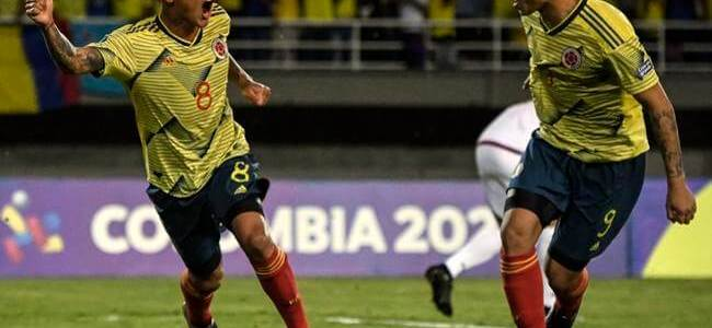 Colombia suma un nuevo triunfo en Preolímpico y se jugará clasificación ante Chile