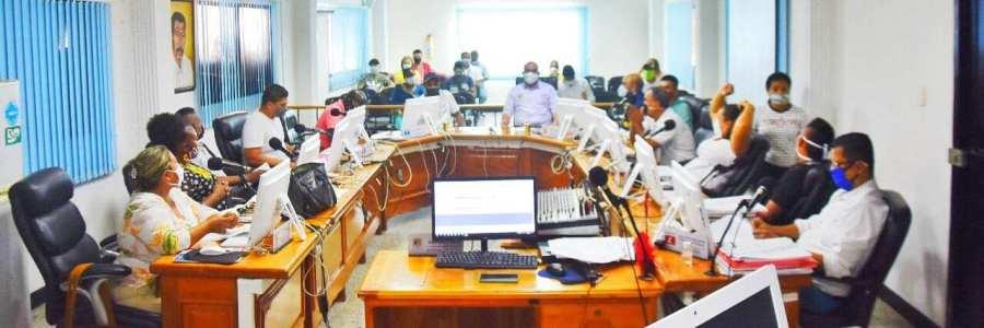Avanza en la plenaria del Concejo de Carepa el estudio del empréstito propuesto, por la  alcaldía