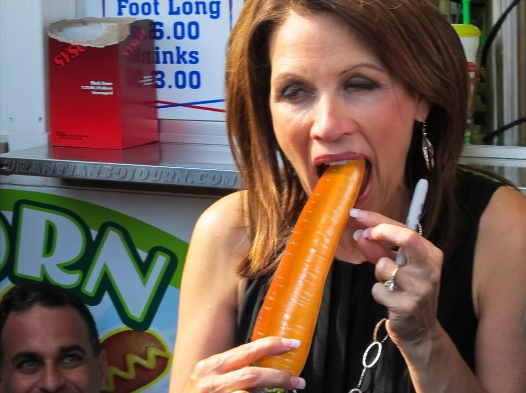 Bachmann lurvs her some Carrot