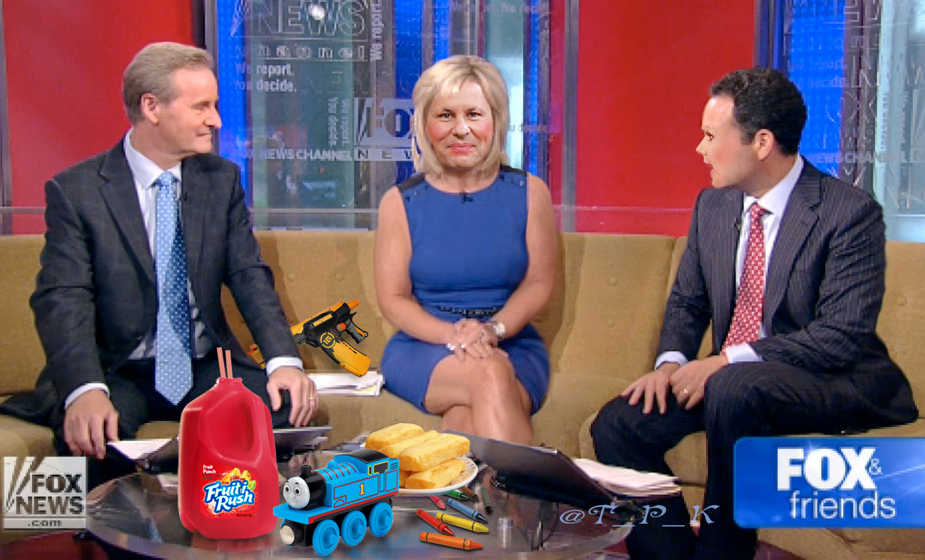 The Fox And Friends Fruit Sandwich Has Changed