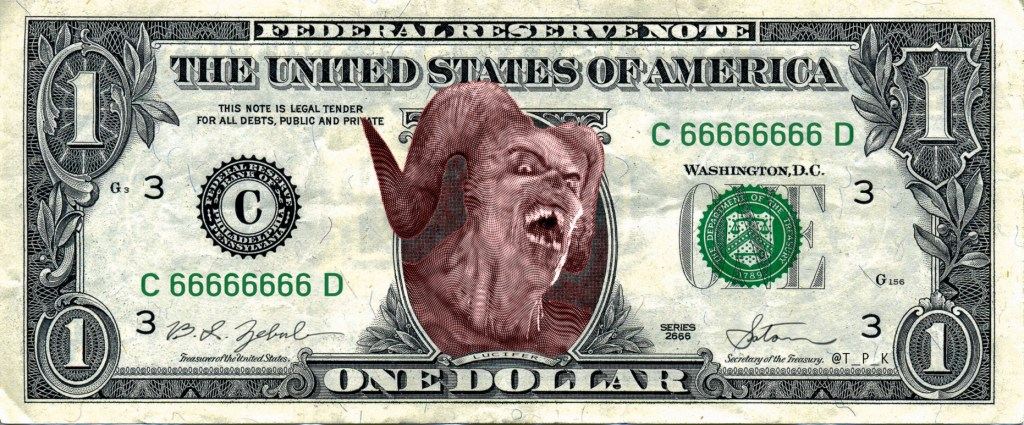 MONEY TALKS: Lucifer $1