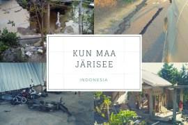 maanjaristys lombok