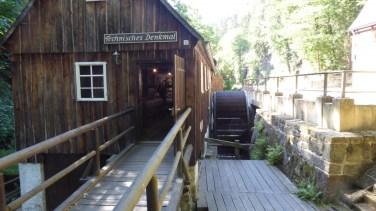 Der Flößersteig im Kirnitzschtal