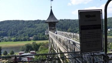 Aufzug in Bad Schadau
