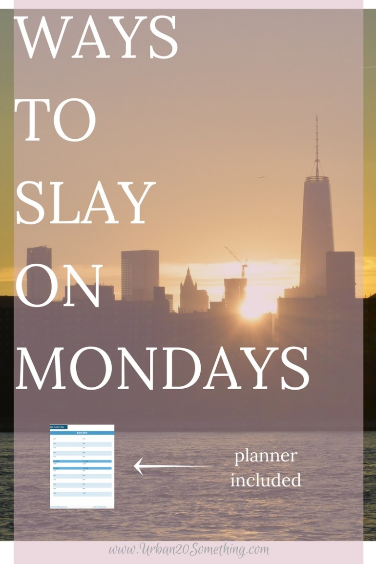 Everyone knows the feeling of dread and drudgery on Monday, but we don't have to accept that! If you're strategic about how you treat Mondays, it can become your favorite day of the week, and set you up for a very productive week, too! Click through to read my favorite tips on Mondays.