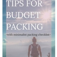 Are you dying to travel abroad but just can't seem to find the money to do so? You're not alone! Traveling is expensive. But, it doesn't have to be so expensive that it should stop your adventurous soul from wandering. Click through to read these excellent tips on budget packing, including a free minimal packing list!